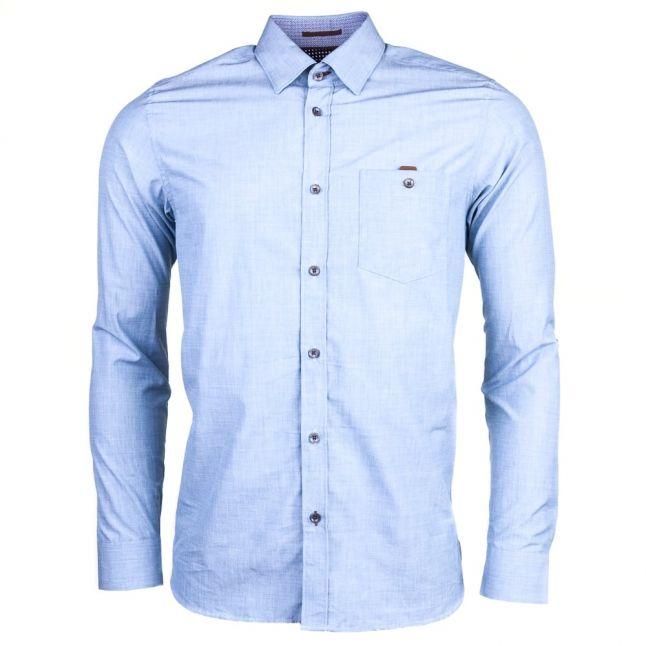 Mens Blue Newway L/s Shirt