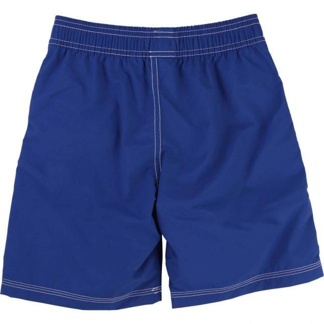 Boys Blue Branded Swim Shorts