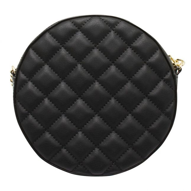 Womens Black Cirrcus Quilted Circle Xbody