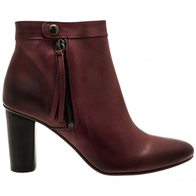 Womens Bordo Mimi Zip Boots