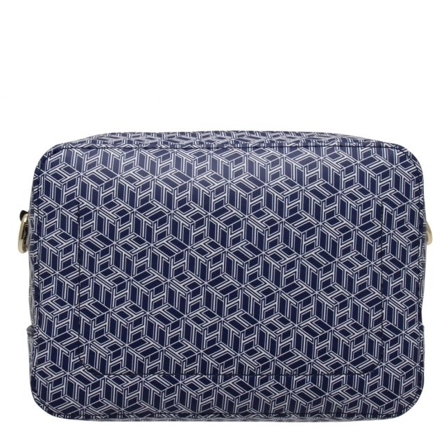Womens Blue Ink Iconic Monogram Camera Bag