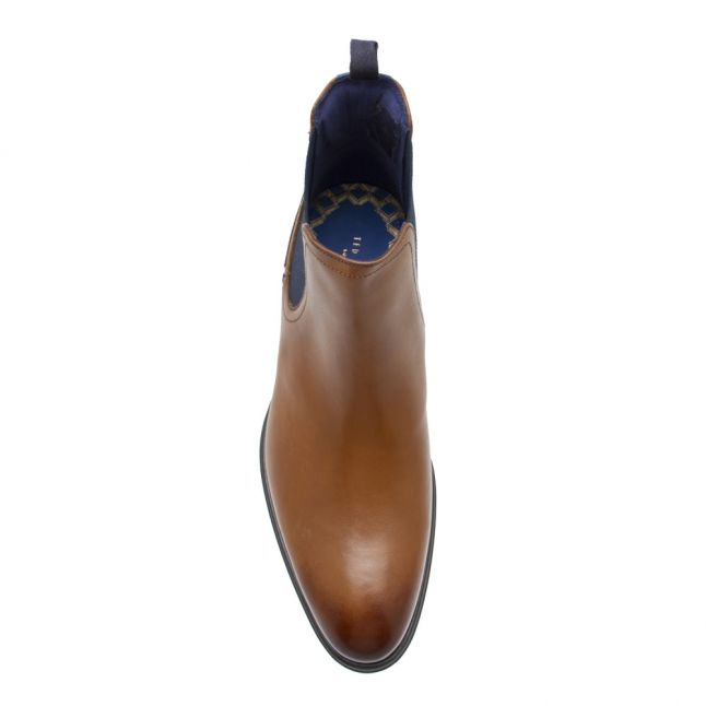 Mens Brown Tan Travic Classic Chelsea Boots