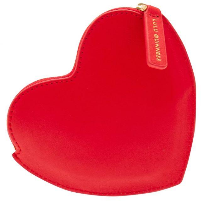 Womens Red Heart Coin Purse