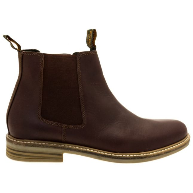 Lifestyle Mens Brown Farsley Chelsea Boots