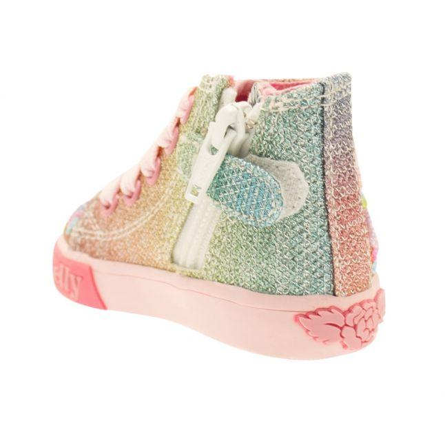 Baby Multi Glitter Rainbow Stars Boot (20-24)