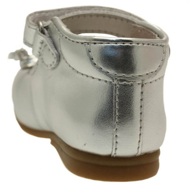 Baby Silver Geltrude Shoes (20-23)