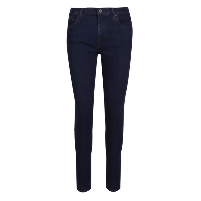 Womens Blue Black Rebound Organic Skinny Fit Jeans
