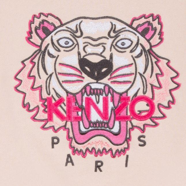 Junior Light Pink Tiger Sweat Top