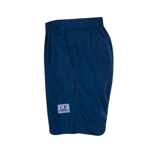 Mens Lyons Blue Branded Swim Shorts