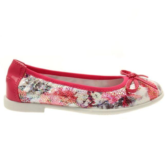 Girls Fuchsia Karol Ballet Shoes (26-35)