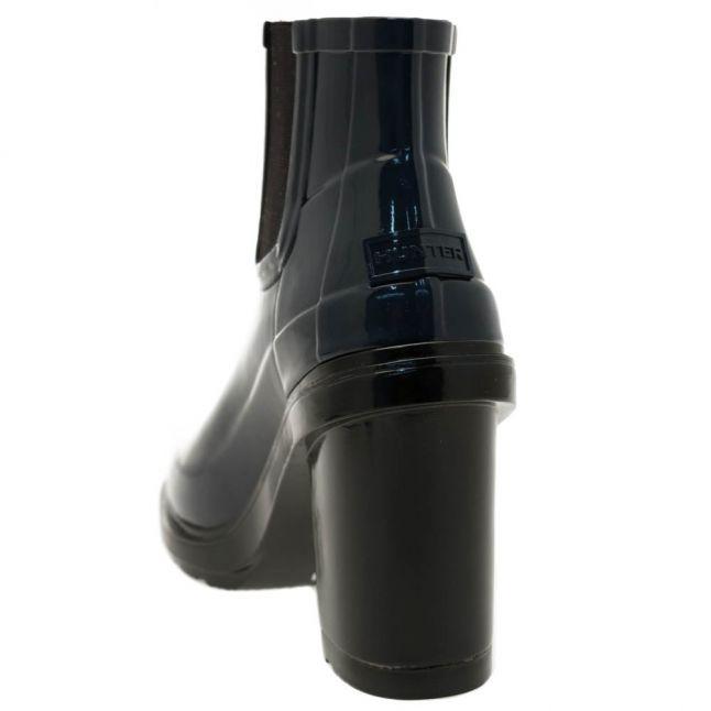 Womens Navy Original Refined Heel Wellington Boots