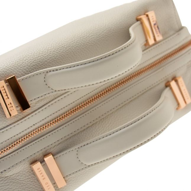 Womens Light Grey Albee Tote Bag