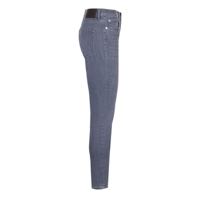 Womens Blue Grey Rebound Organic Cotton Skinny Jeans