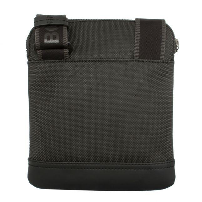 Athleisure Mens Black Hyper Zip Crossbody Bag