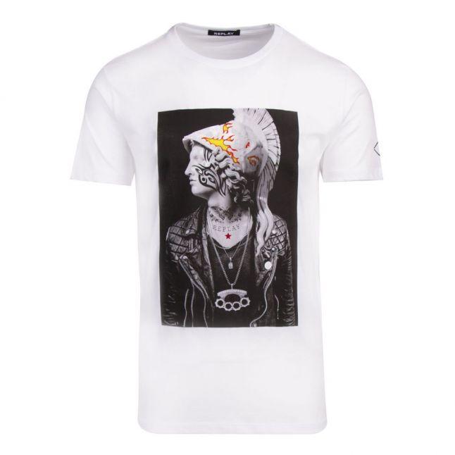 Mens White Centurion S/s T Shirt