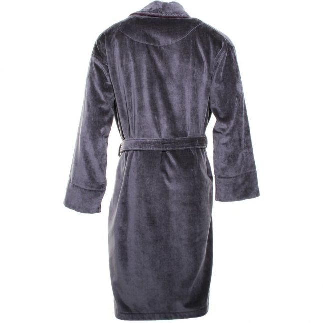 Mens Charcoal Plano Dressing Gown