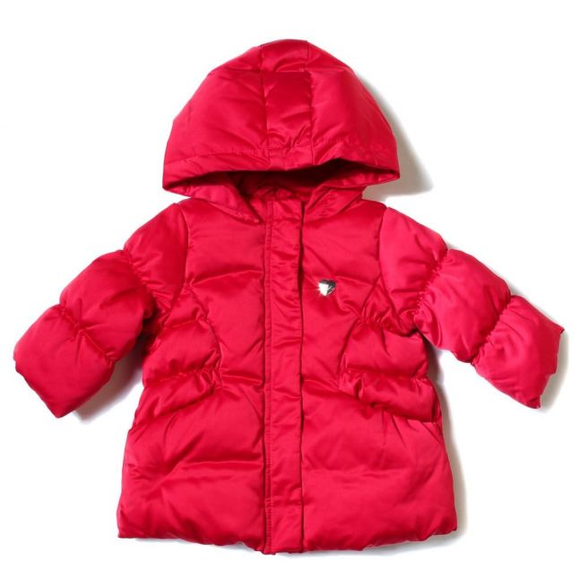 Baby Red Down Puffer Jacket
