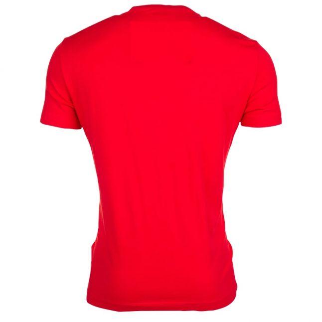 Mens Racing Red Train S/s Tee Shirt