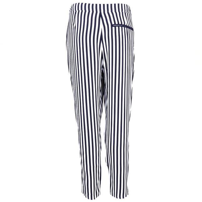 Womens Navy & White Salanja Trousers