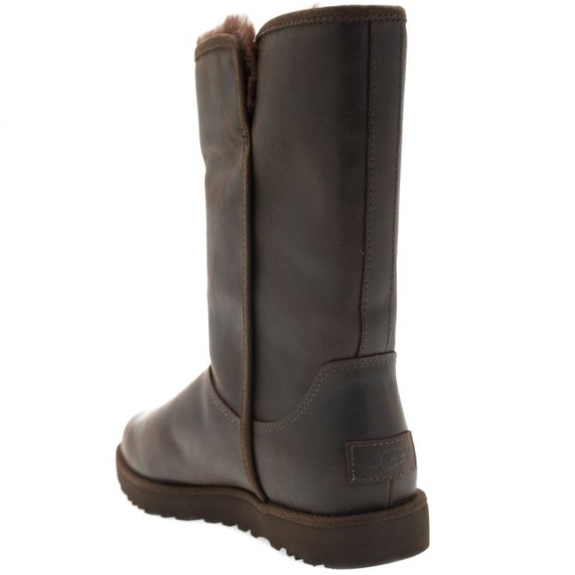 Womens Stout Michelle Leather Boots