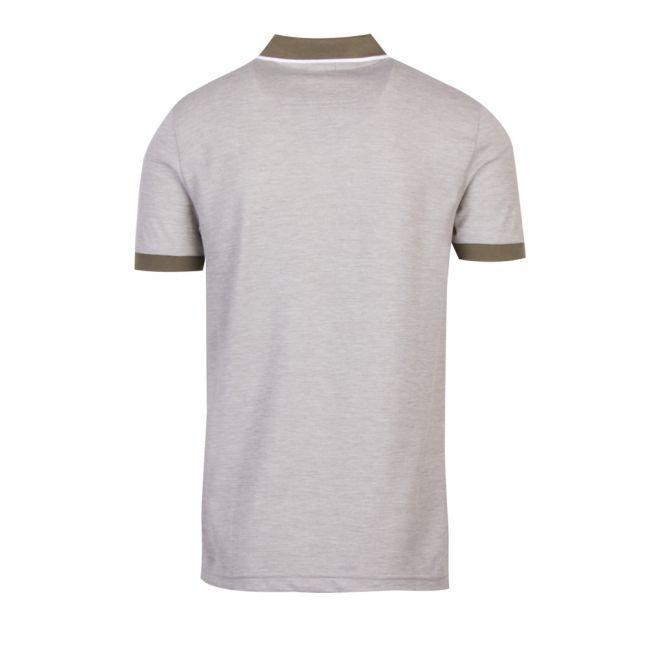 Athleisure Mens Khaki Paule 4 Slim Fit S/s Polo Shirt
