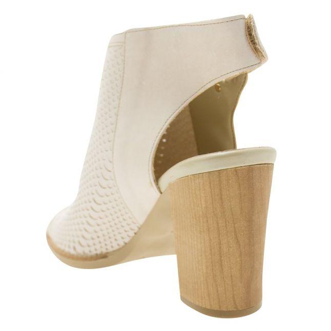 Womens Cream Lirra Heeled Shoes