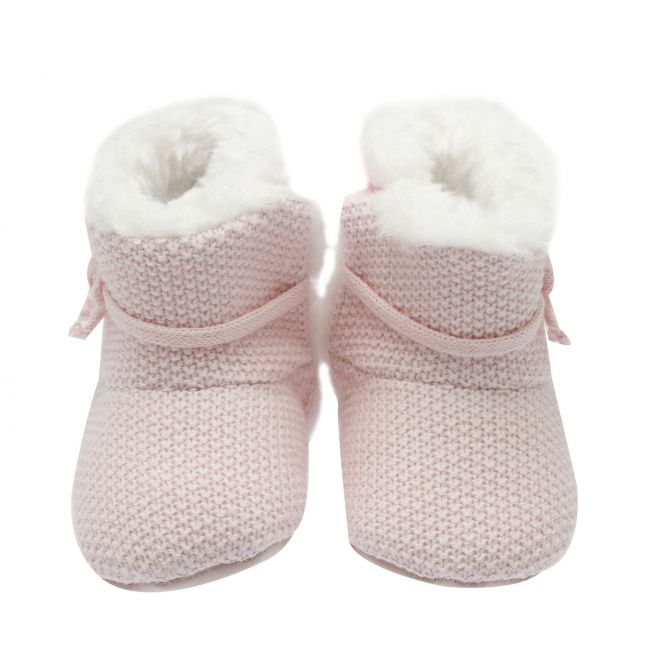 Baby Rose Knitted Booties (15-19)
