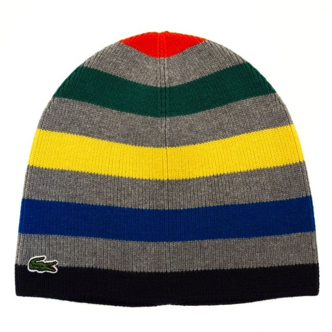 Boys Assorted Striped Knitted Hat