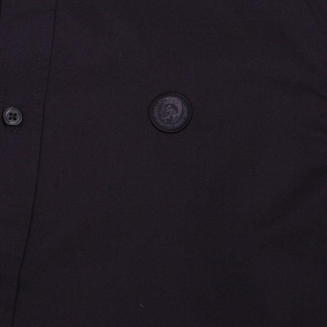 Mens Black S-Bill L/s Shirt