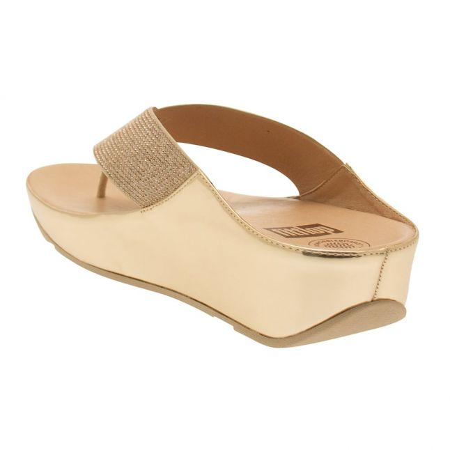 Womens Rose Gold Crystall™ Sandals
