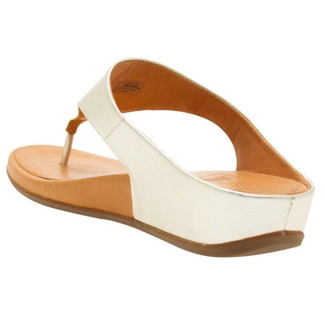 Fit Flop Womens Pale Gold Banda Sandals