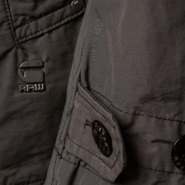 Mens Night Garber Hood Trench Jacket