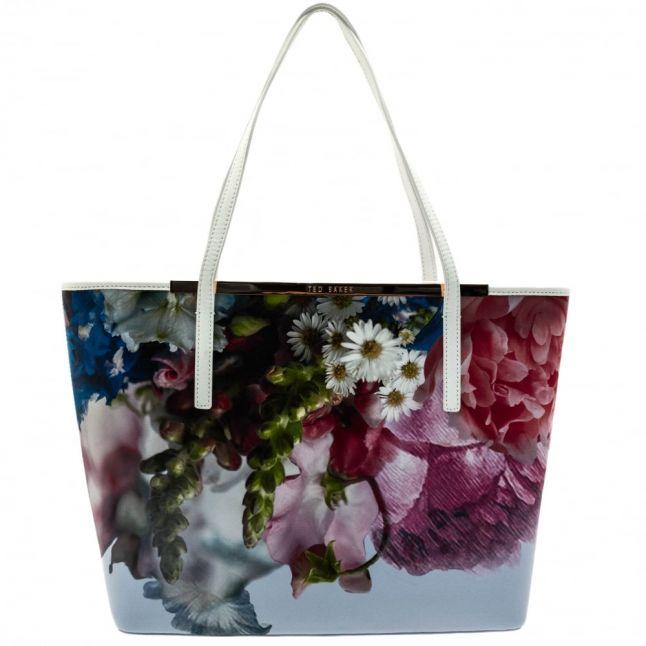 Womens Powder Blue Floryia Shopper Bag