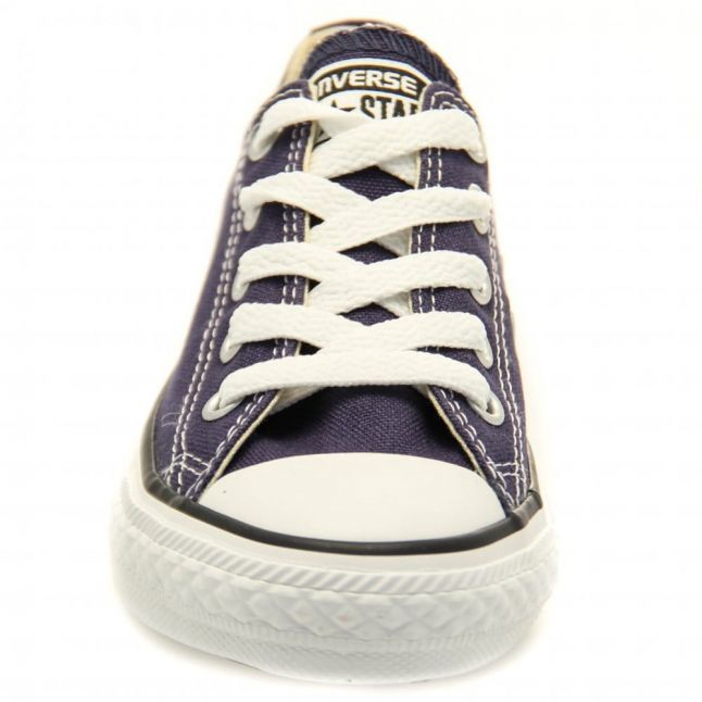 Youth Navy Chuck Taylor All Star Ox (10-2)