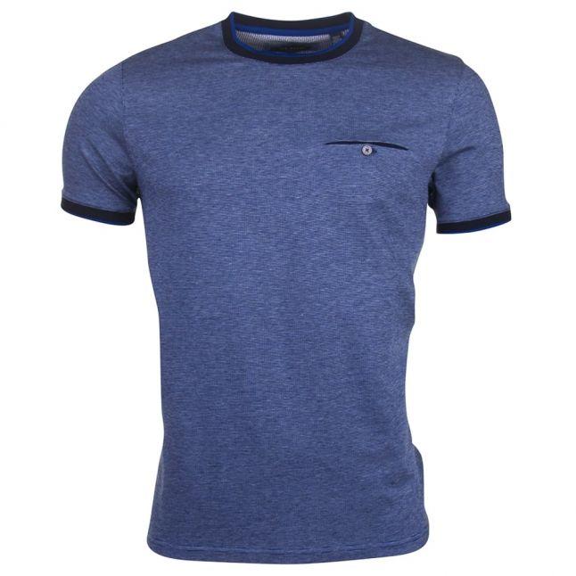 Blue Mens Richie S/s Tee Shirt