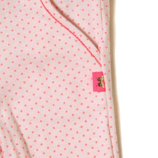 Baby Pink Dot Leggings