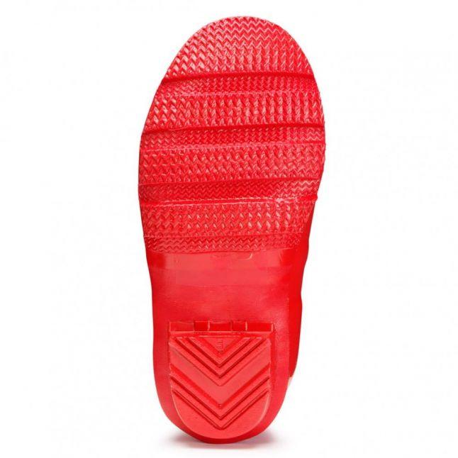 Kids Pillar Box Red Original Gloss Wellington Boots (7-5)