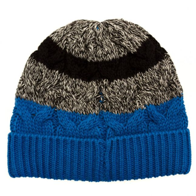 Baby Electric Blue Knitted Hat