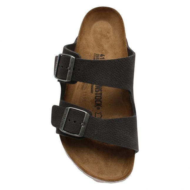Mens Grey Arizona Nubuck Sandals