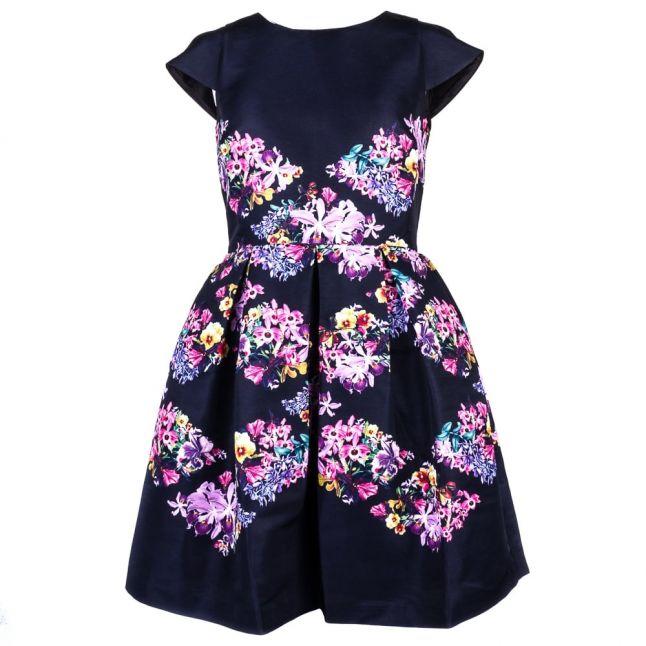 Womens Black Girley Lost Gardens Dress