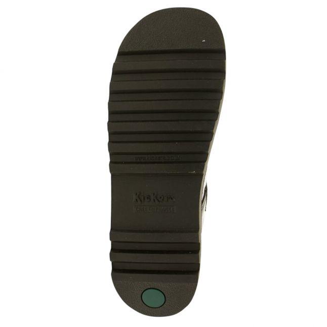 Youth Black Patent Leather Kick T Bar (3-6)