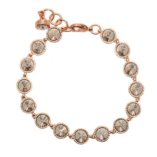 Womens Rose Gold & Crystal Raalyn Bracelet