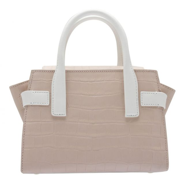 Womens Soft Pink Carmen Croc Extra Small Tote Bag
