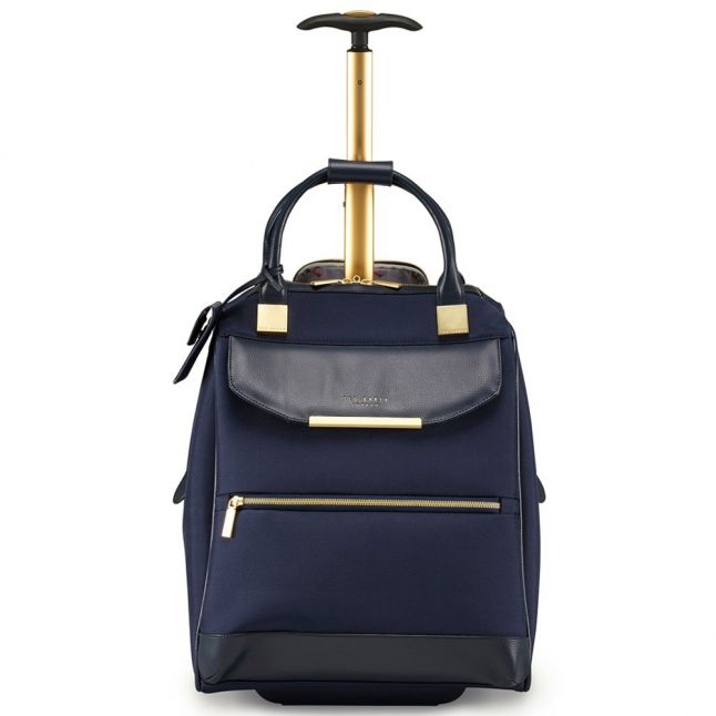 Womens Navy Albany Soft Suitcase