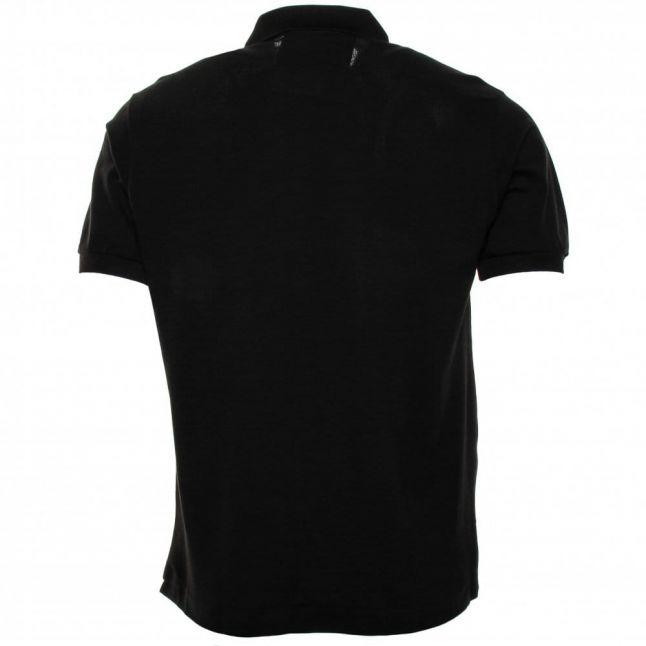 Mens Black Classic L.12.12 S/s Polo Shirt
