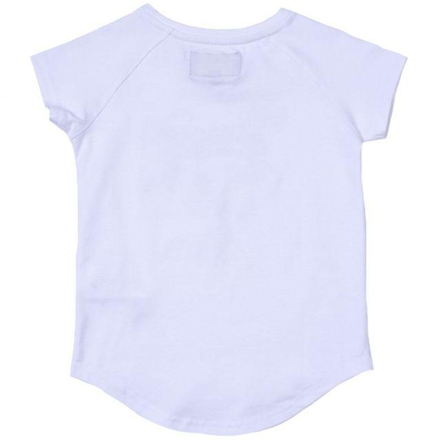 Girls White Chicane S/s Tee Shirt