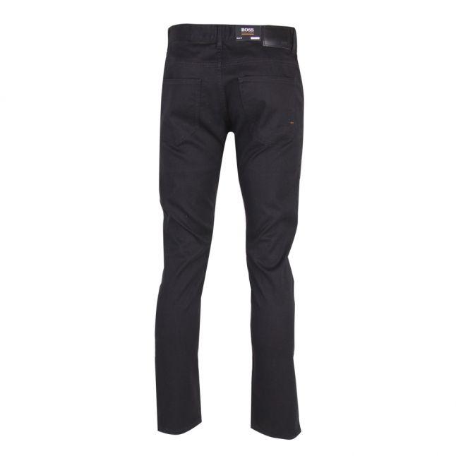 Casual Mens Black Delaware Slim Fit Jeans