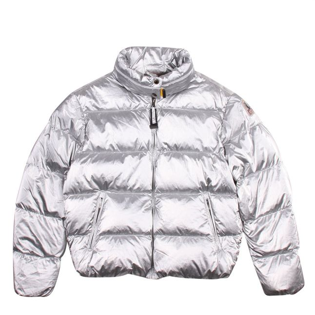 Girls Silver Pia Padded Jacket