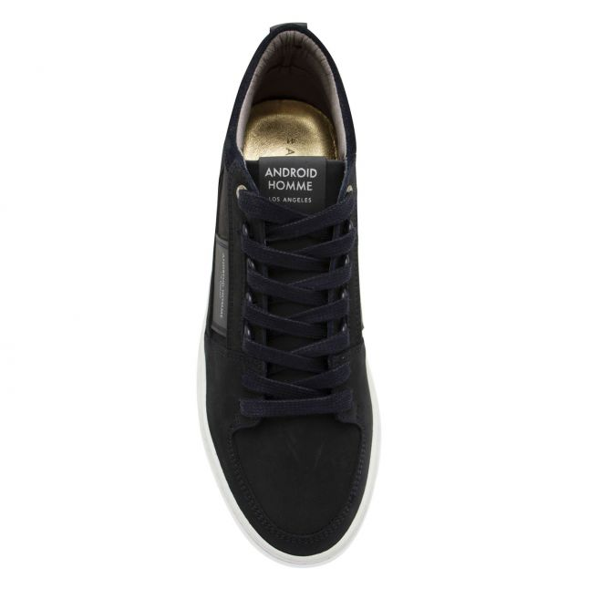 Android Homme Mens Ink Nubuck Point Dume Trainers
