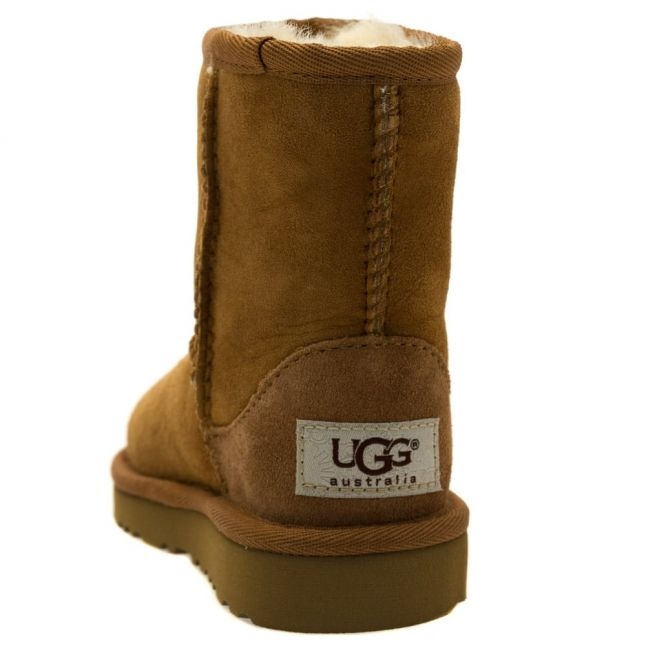Toddler Chestnut Classic Short Boots (5-11)